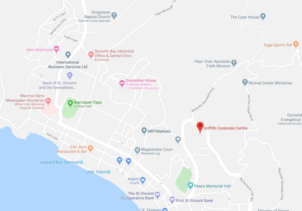 Адрес и местонахождение