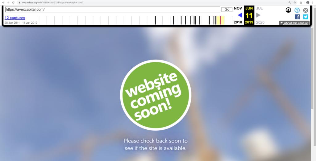 При этом впервые зарегистрирован домен был в 2013 году. Пусть это вас не смущаем. Проверив через вебархив подтверждается, что до февраля 2020 года на этом домене никого не было: