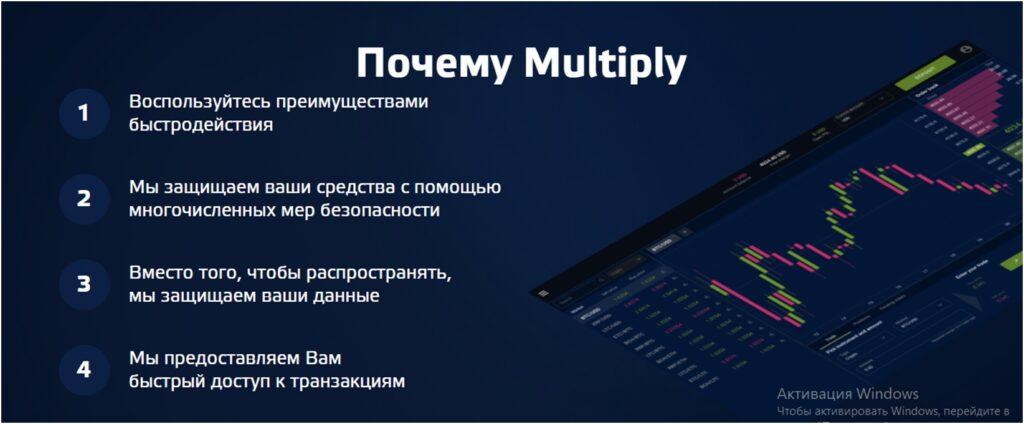 Информация на главной странице сайта.