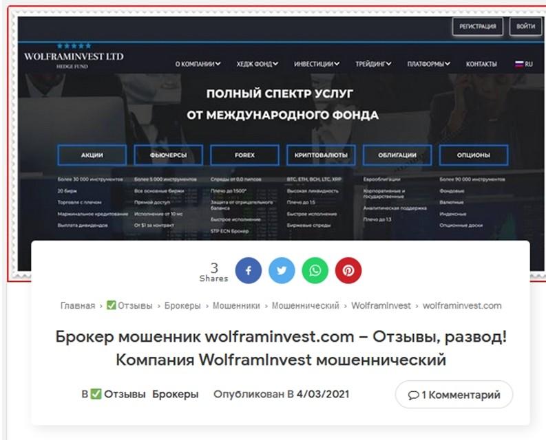Отзывов в русской части Интернета на этот лже-фонд пока совсем мало