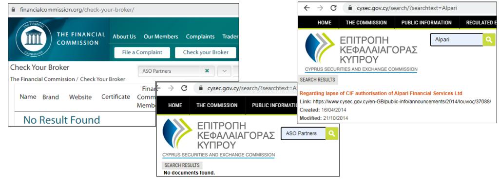 ASO Partners Лицензия