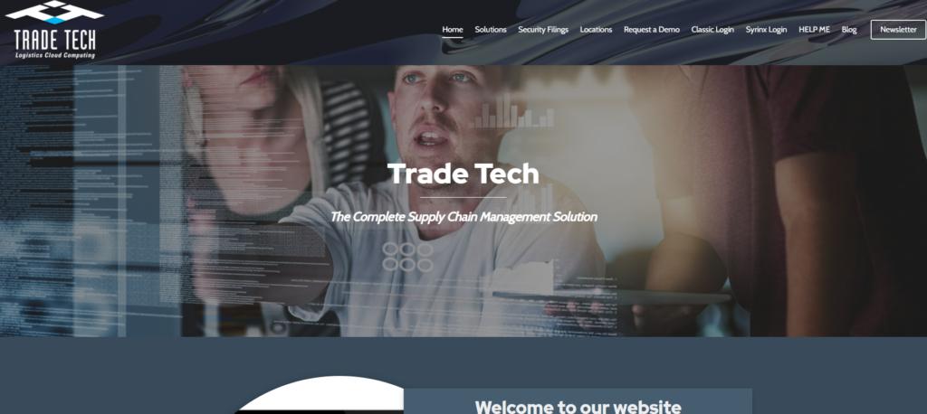 Сайт Trade Tech