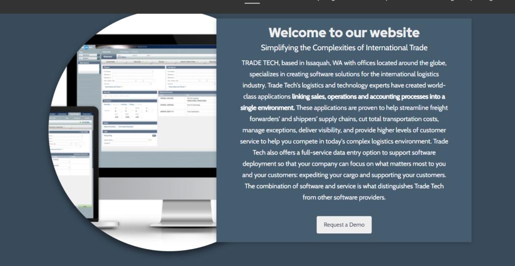 Trade Tech сайт