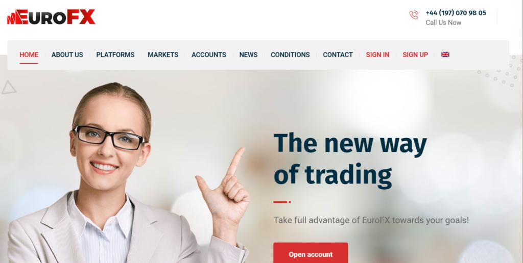 EURO FX trade Официальный сайт