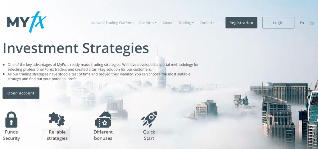 MyFx (myfx365) Официальный сайт