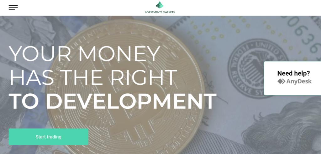 InvestmentsMarkets Официальный сайт