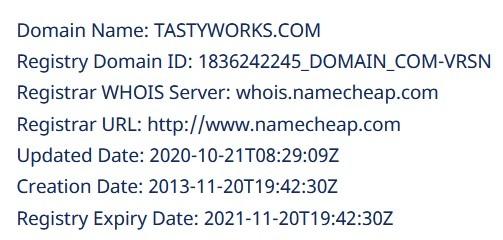 Так, сервис Whois даёт понять что сайт был создан в 2013 году, а купили его и установили на хостинг совсем недавно в октябре 2020 года.