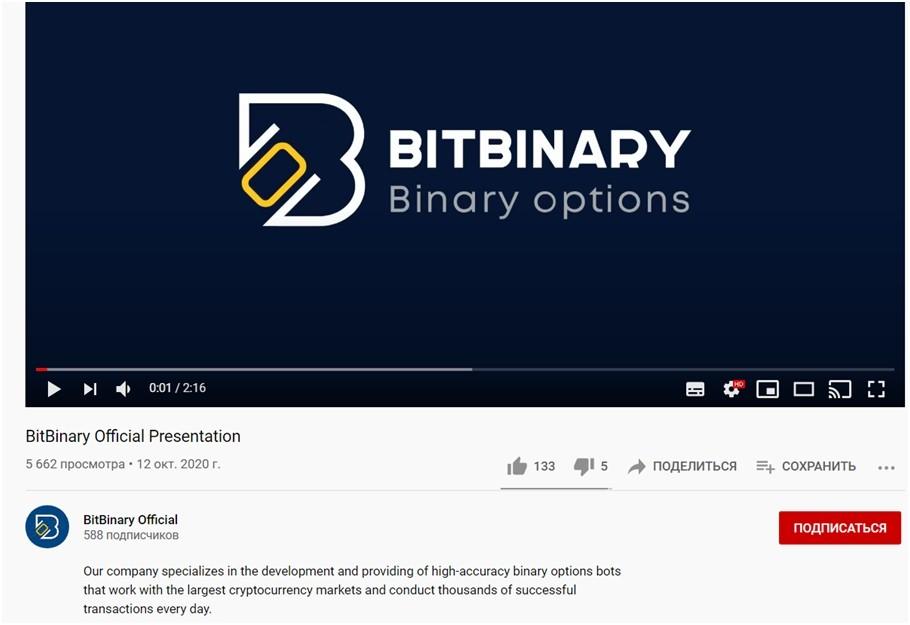 Ютуб Bitbinary
