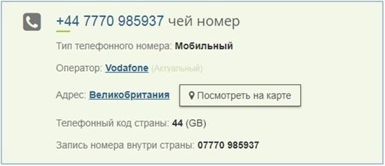 сервис проверки телефонов